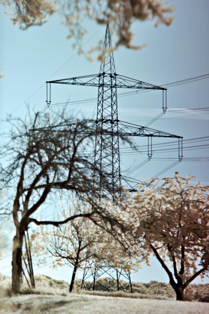 Infraroter Strom