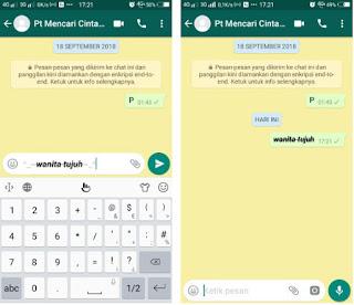 8 Cara Buat Tulisan Unik di Whatsapp Agar Chattinganmu Makin Asyik