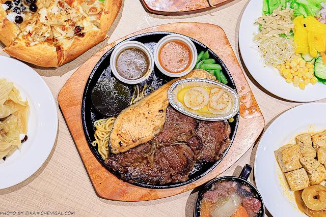 MG 5623 - 熱血採訪│牛室炙燒牛排,最低只要299元就能享用pizza、湯品、熟食燴飯、炸物小點、水果沙拉吃到飽!