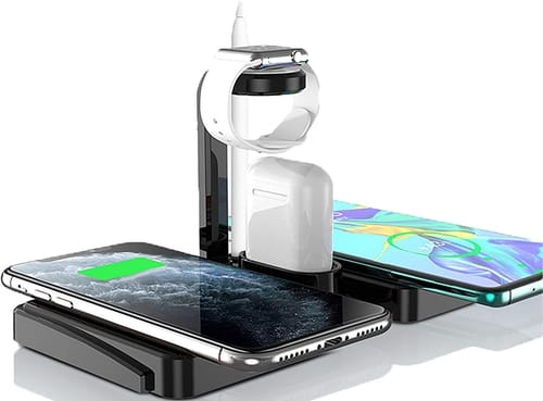 N /A 5 in 1 Fast Wireless Charger Station