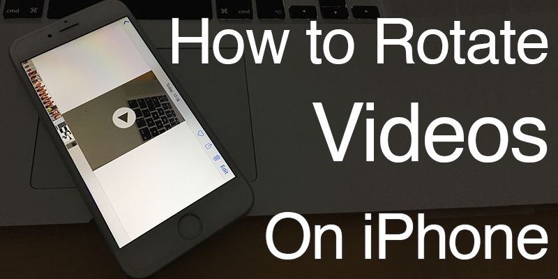 how to rotate a pdf on iphone