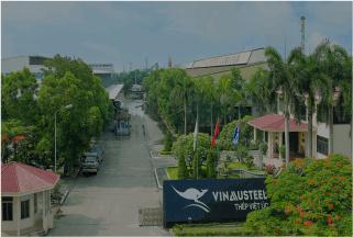 Nhà máy thép Việt Úc tại Hải Phòng