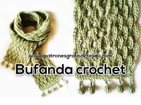 como-tejer-bufanda-crochet