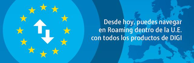 DigiMobil ofrece Roaming gratis en sus tarifas