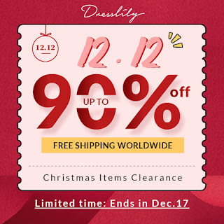 Free Shipping & 12/12 Sales Promotion From DressLily