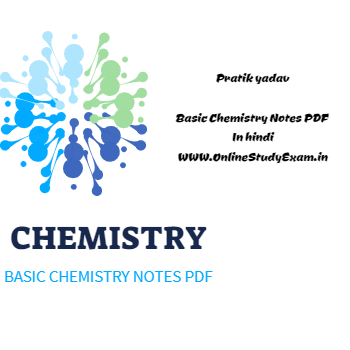 Chemistry Basics Notes PDF For Competitive Exams In Hindi