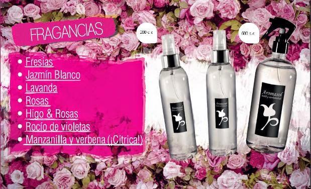 Perfumes para la ropa florales