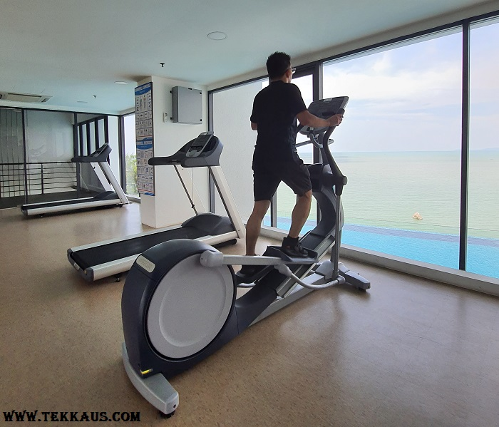 Tanjung Point Residences review-Gym Equipment