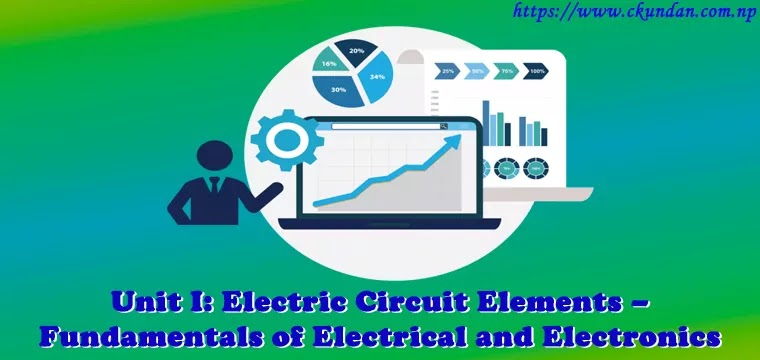 Electric Circuit Elements – Fundamentals of Electrical and Electronics