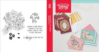 February 2021 Paper Pumpkin: Bouquet of Hope stamp set case insert #paperpumpkin