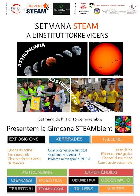 STEAM Open Sessions: presentació projecte P.E.R.A. al IES Torre Vicens