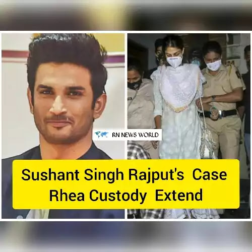 Sushant-Singh-Rajput-case-live-updates,Rhea-Chakraborty-and-brother-Showik's-judicial-custody-extended-till-October-20