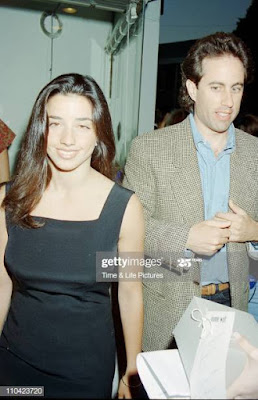 Shoshanna Lonstein and  Jerry Seinfeld