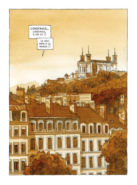 Le bruit de la pluie de Joël Alessandra aux éditions des ronds dans l'O page 7