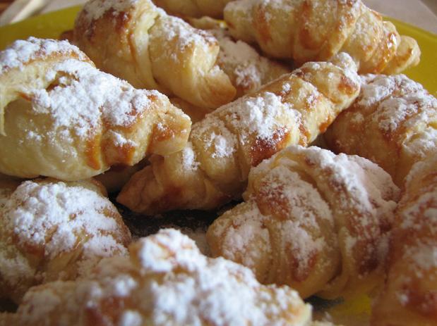 Receta de croissants o cruasanes fáciles y rápidos