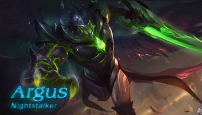 Ini dia Counter Hero Fighter Argus di Game Mobile Legends