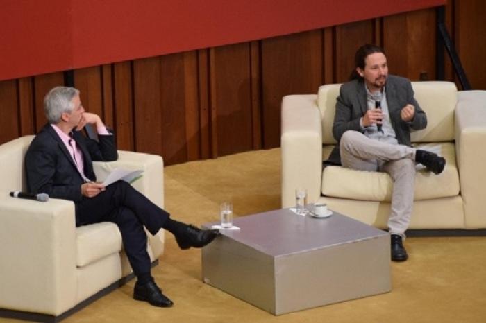 Iglesias visitó Bolivia como invitado pagado de la Vicepresidencia en 2017 para conmemorar los 100 años de la Revolución Rusa / ARCHIVOS WEB