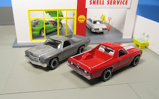 Matchbox real riders 1970 Chevy El Camino raw