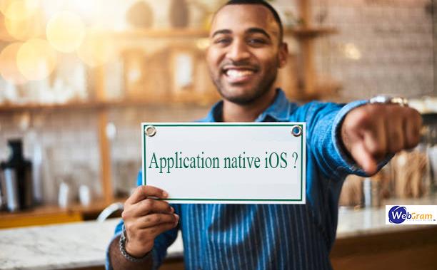 Pourquoi développer une application native iOS, WEBGRAM, meilleure entreprise / société / agence  informatique basée à Dakar-Sénégal, leader en Afrique, ingénierie logicielle, développement de logiciels, systèmes informatiques, systèmes d'informations, développement d'applications web et mobiles