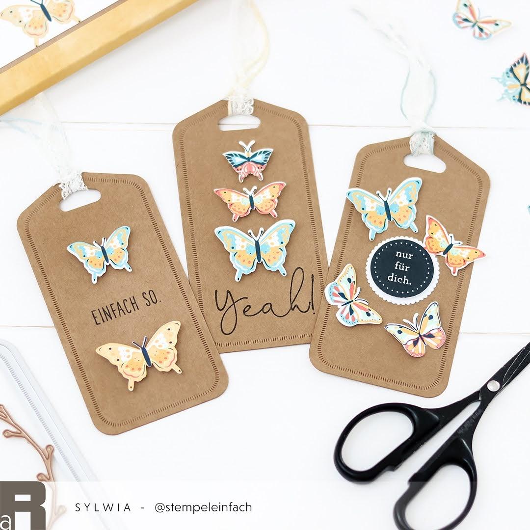 Folk-Art Schmetterlinge Renke