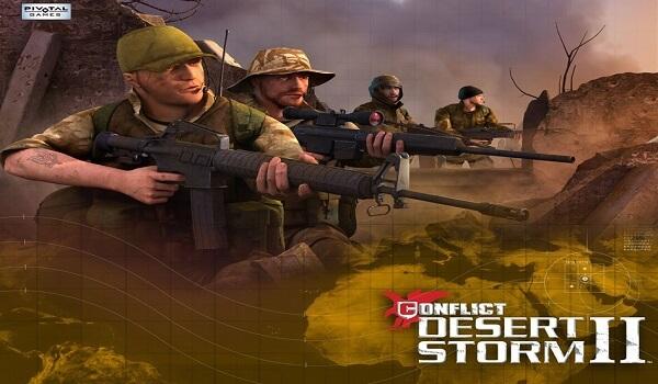 تحميل لعبة عاصفة الصحراء 2 من ميديا فاير للكمبيوتر مضغوطة