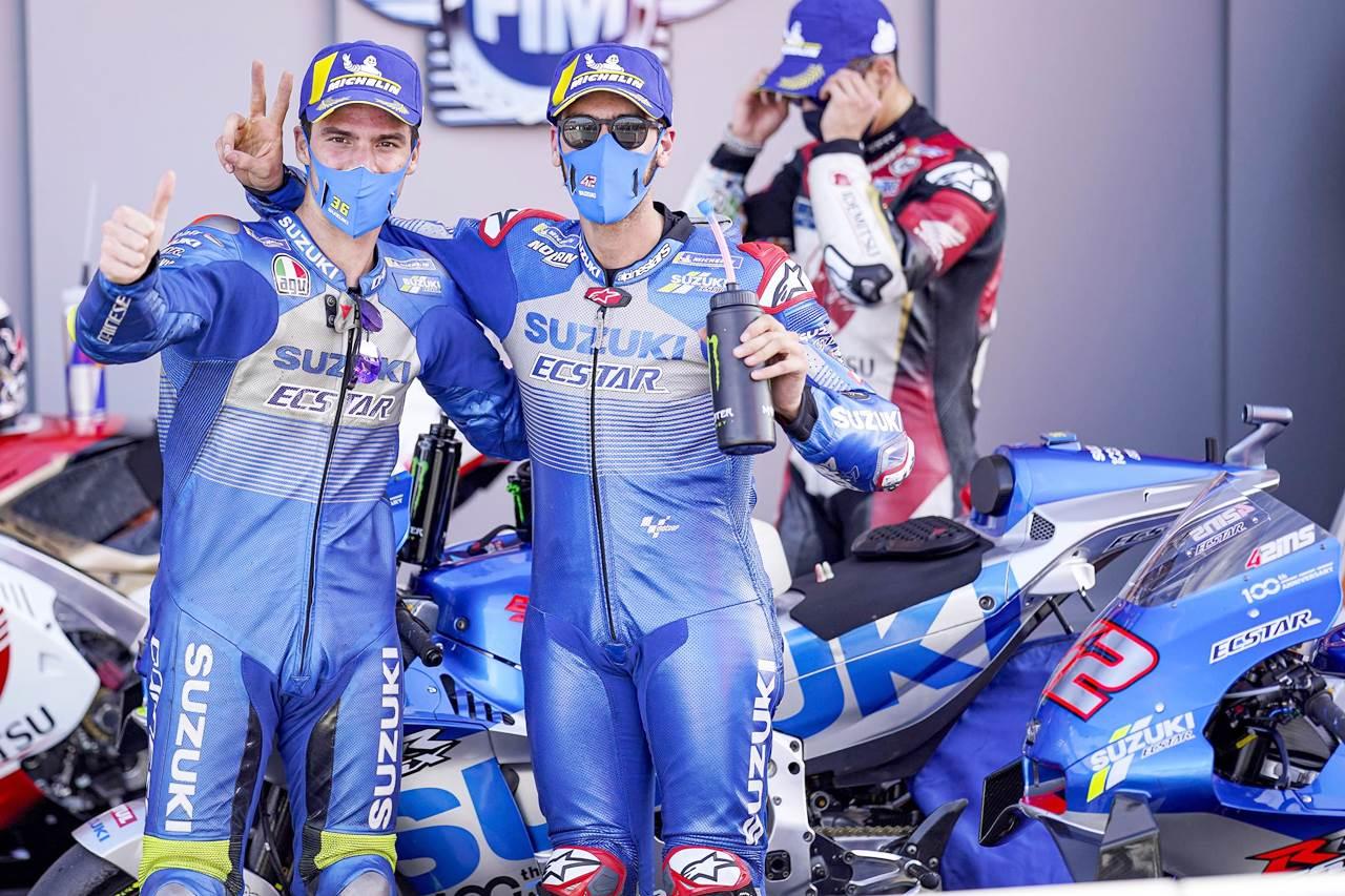 Agresif Kuasai European GP, Team Suzuki Ecstar Raih Kemenangan Indah