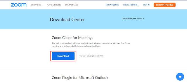 Zoom Client Version 5.1.3 (28656.0709)