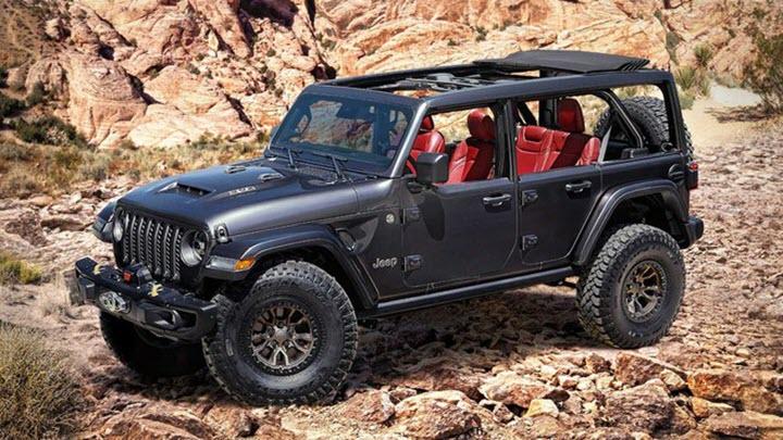 Jeep Wranger Rubicon 392 trình làng, 'cà khịa' Ford Bronco