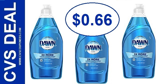 Dawn Dish Soap CVS Deal $0.66 811-817