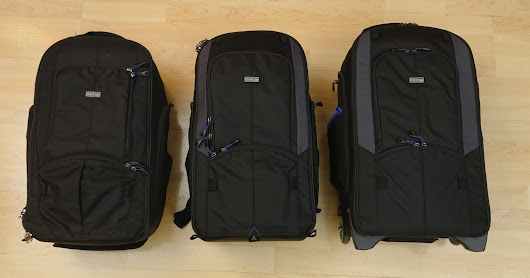 Gear Review - Streetwalker Harddrive v2.0 and Streetwalker Rolling Backpack by Think Tank Photo