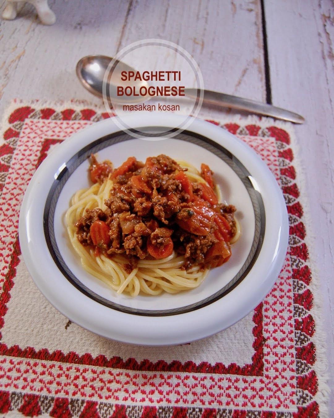 Resep Spaghetti Bolognese Asli Dari Italy