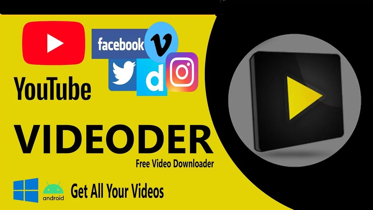 Videoder: Youtube video downloader for Phone and PC
