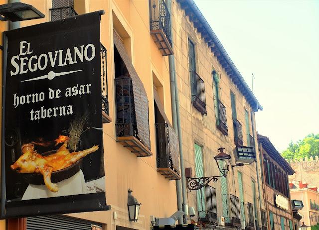 vad äta i Segovia