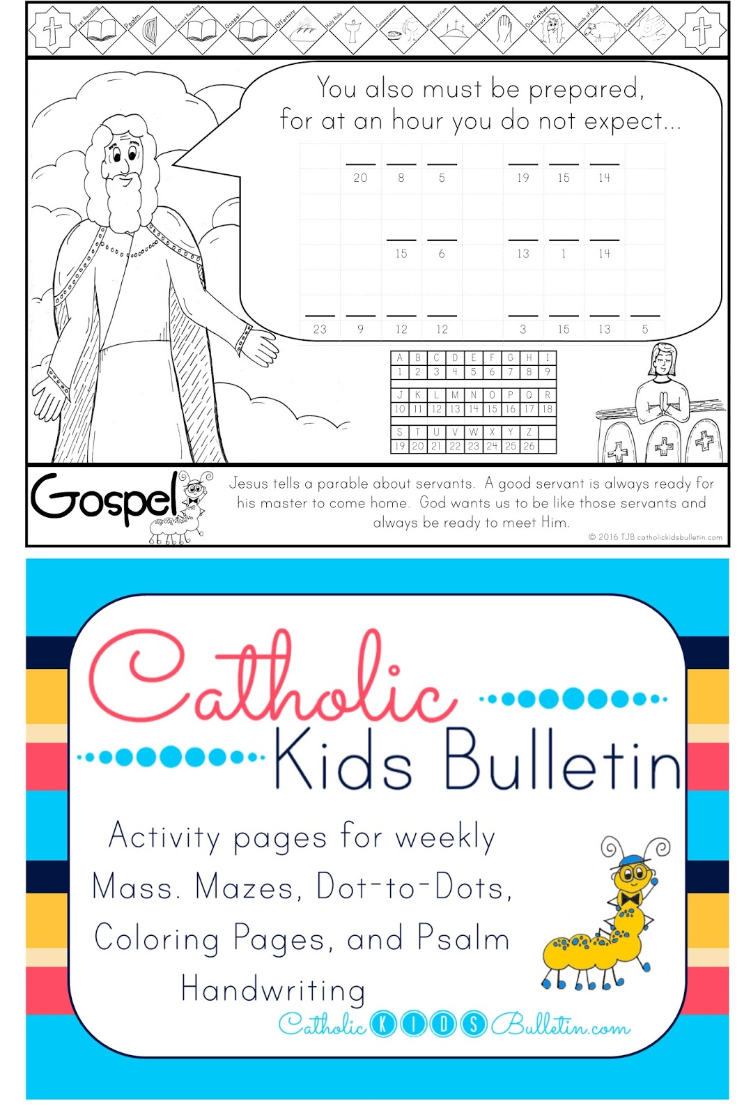 Catholic Kids August Ckb