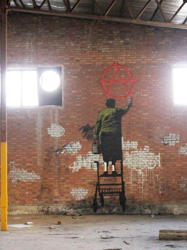 Уличные художники из Ирана. ICY и SOT 10
