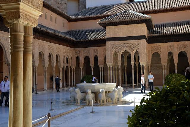Pałac Lwów Alhambra