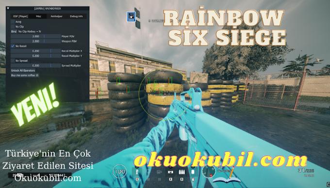 Rainbow Six Siege PC Zambu Hack Aimbot + Esp + Chams + Spoofer Kilidi Aç