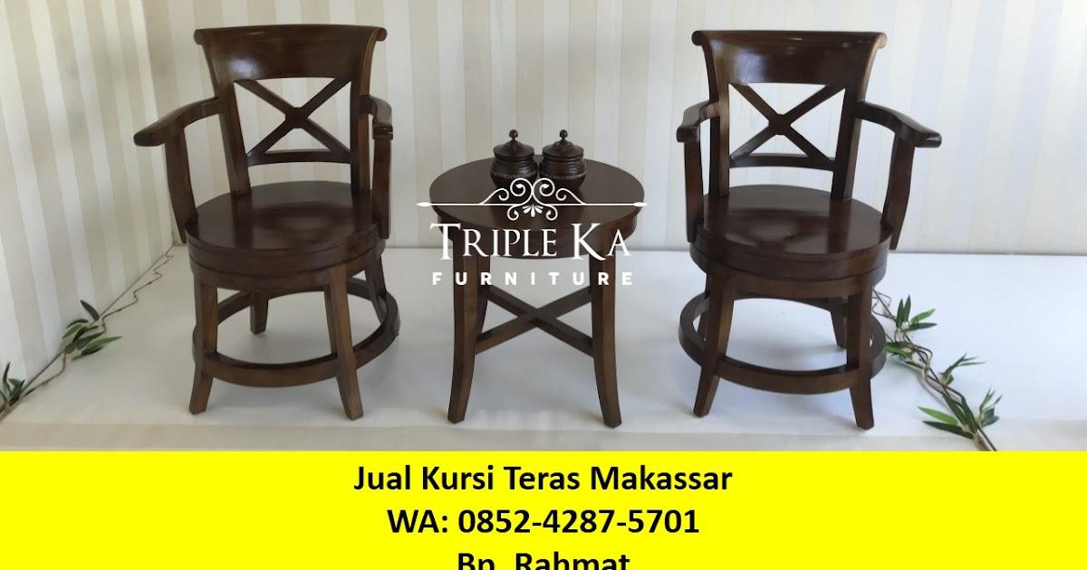 Model Kursi Teras Kayu Minimalis wa 0852 4287 5701 jual kursi teras di makassar