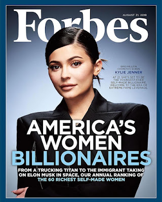 #KylieJenner grabs #Forbes cover