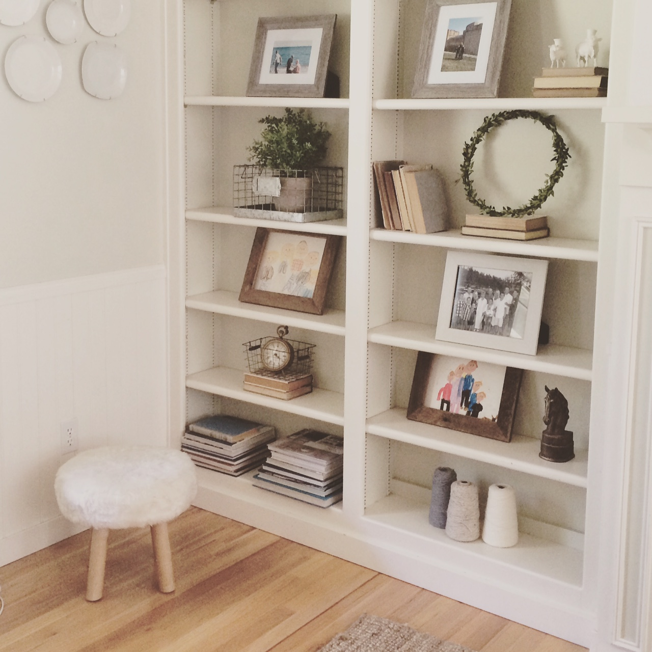 Little Farmstead Farmhouse Style Shelves and Bookcases