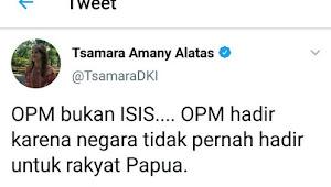 HEBOH Twit Tsamara PSI tentang OPM, Kok Dihapus?