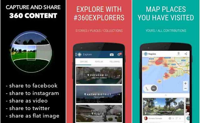 Aplikasi Panorama 360 Camera