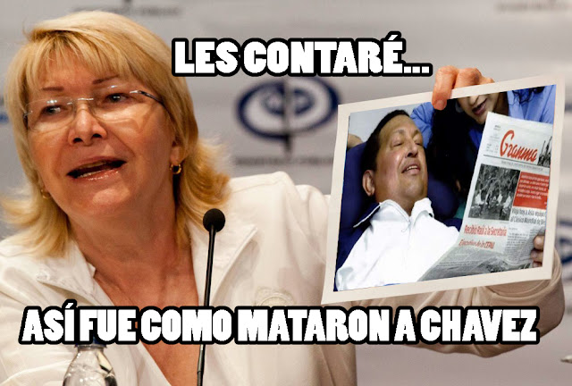 Luisa Ortega se prepara para soltar todo sobre el asesinato de CHAVEZ