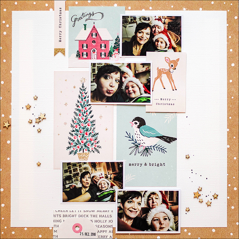 Stephanie Berger - Scrapbooking - Dani Peuss - Selfie Fun