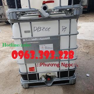 Tank nhựa IBC 1000L đã qua sử dụng, bồn nhựa đựng hóa chất 2c9d9b10e8d10a8f53c0