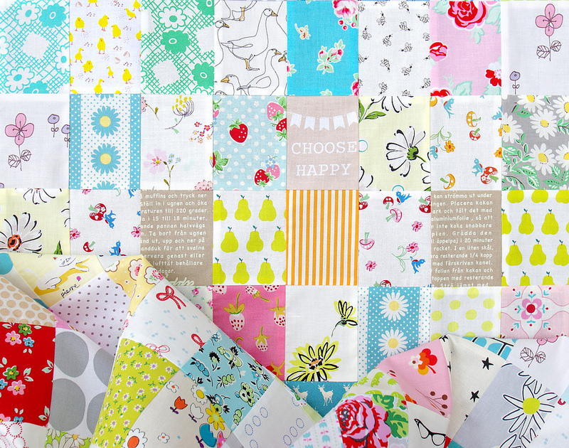 Rectangle Checkerboard Quilt 2 | © Red Pepper Quilts 2016