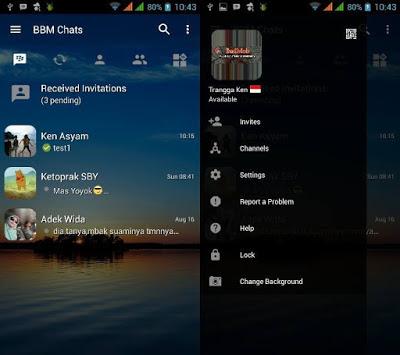 Download BBM2 Mod Transparan Clone Apk 3.3.7.93 Terbaru