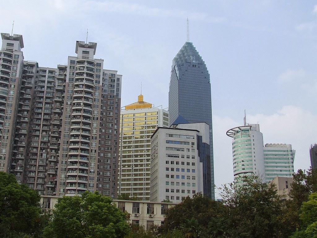 Wolkenkratzer Wuhan Minsheng Bank Building