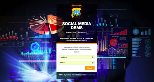 """Social Media DBMS"" Kelengkapan Baru Polri Untuk Handling and Monitoring Media"