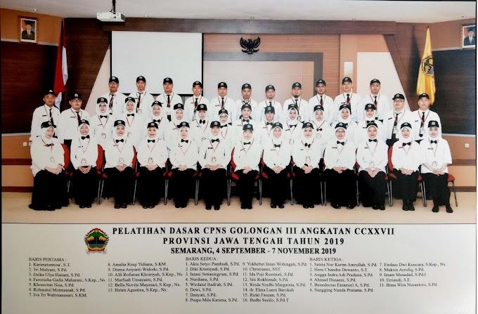 Kenangan Masa Laporan Aktualisasi Bersama Latsar CPNS Angkatan 227